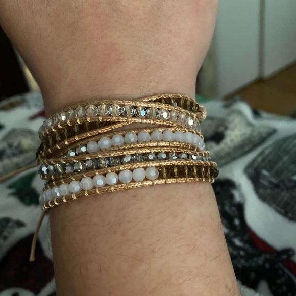 NWOT Victoria Emerson Wrap Bracelet